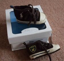 Bebé Chicos Ralph Lauren Layette Pre Walker Zapatos Uk Size 1.5 (3 - 6 meses)