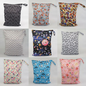 Large Cloth Mama Wet Bag for Cloth Nappies, Wipes, Sanitary Pads, CSP, FREE P&P!