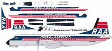 Reeve Aleutian NAMC YS-11A 1/144 airliner decals for Hasegawa kit