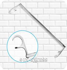 Metlex Majestic Bathroom Accessories Extending Radiator Towel Rail Chrome (283)