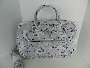 Vera Bradley LAY FLAT Weekender Travel Bag in Performance Twill Park Stripe