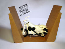 EVEL KNIEVEL STUNT CYCLE REPRO CARDBOARD BIKE HOLDER ONLY - IDEAL TOY. / ARXON