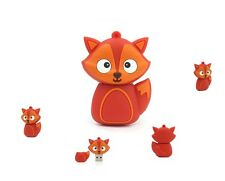 Cute Fox animal kids 16GB USB 2.0 novelty flash drive memory stick