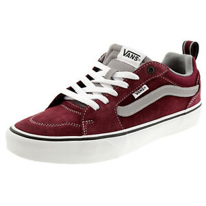 VANS Filmore Retro Sport Sneaker Skater Unisex canvas/Leder Sneaker rot