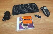 Gyration Wireless Black Go 2.4GHz Cordless Optical Air Mouse Bundle (GC15M)