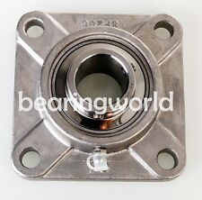 """7/8"""" Stainless Steel 4-bolt Flange Bearing SUCSF205-14   UCF205-14"""