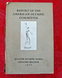 Report of the American Olympic Committee-Seventh Olympic Games 1920
