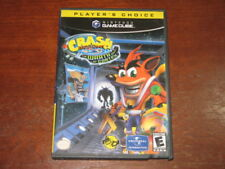 Crash Bandicoot The Wrath of Cortex (Nintendo GameCube) - Game & Box Good Cond