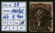 U.S.A. - 1861/62 - 5 cent. bruno - Unificato n.23 - usato