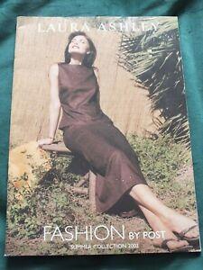 Laura Ashley Catalogue Fashion By Post 2002