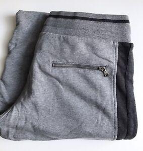 Dolce & Gabbana Sweat Shorts, Gray - Black, Size XL (50), New-w-Tags