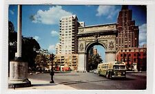 GREENWICH VILLAGE, NEW YORK CITY: New York USA postcard (C28836)