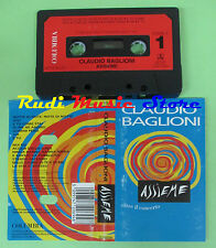 MC CLAUDIO BAGLIONI Assieme 1992 HOLLAND Columbia COL 472069 4 no cd lp dvd vhs