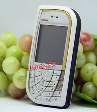 Original Nokia 7610 Mobile Cell Phone GSM 900/1800/1900 Refurbished White, Gift