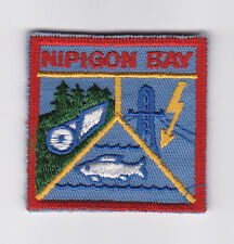 SCOUT OF CANADA - CANADIAN SCOUTS ONTARIO (ONT) NIPIGON BAY DISTRICT Patch