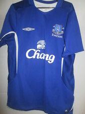 Everton 2005-2006 Home Football Shirt Talla / 15154