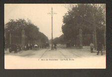 BOIS DE VINCENNES (94) AUTOMOBILE SPORT & ATTELAGE ,PORTE DOREE animé avant 1904