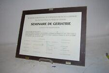 C181 Certificat de frequentation - seminaire geriatrie