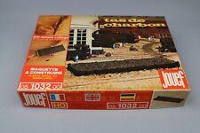 Jouef 1032 Ho Sncf Parc à Charbon Tas Dépot Rotonde Triage Pont Tournant Plm Est