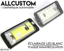 LED LUZ LUCES PLACA MATRICULA BLANCO POTENTE para BMW E46 SERIE 3 COUPE 99-03 M3