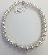 12x14.5mm  Sea Pearls Strand ,White Rose Color. Well Matched.