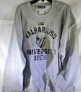 Valparaiso Crusaders College Arch 50//50 Blended 8 oz Hooded Sweatshirt Black X-Large