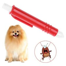 Pet Flea Clip Tweezer Animal Acari Mite Tick Remover Dog Cat Grooming Clean Tool