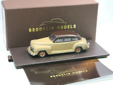 Brooklin Models BML 29 1942 DeSoto Deluxe 4-Door Sedan brown over beige 1:43