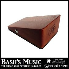 SX Essex Mahogany Wooden Stomp Box Active Pickup Slanted for Heel or Toe - SBX11