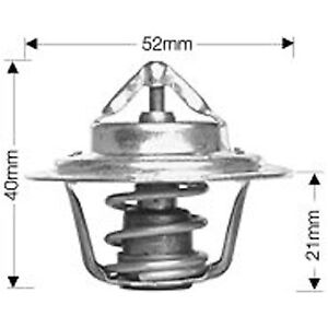 Dayco Thermostat DT15A fits Toyota Hilux 2.0 4x4 (N30/40), 2.0 4x4 (RN46R), 2...