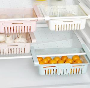 Basket Fridge organizer refrigerator Retractable drawer Type Refrigerator Con
