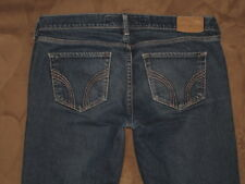 Hollister Size 5L Laguna Skinny Dark Blue Stretch Denim Womens Jeans
