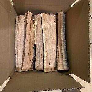 Premium Seasoned Kiln-Dried Mesquite Wood Split Logs 10lb