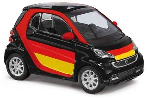 Busch Ho 46219 Smart Fortwo 12 »Soccer Supporters« # New Original Packaging #