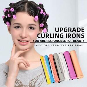 24Pcs Perm Rods For Natural Hair With Hair Cold Wave Rods Hair Curler