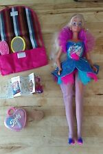 Vintage 1980s Sindy Make Me Up Doll with original outfit and accessories