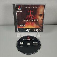 Apocalypse Playstation ps1 Action Black Label Videospiel PAL
