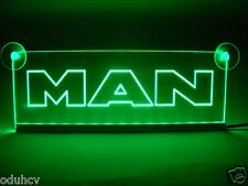 24V Green LED Cabin Interior Light Plate for MAN Truck Bus Neon Table Sign Lamp