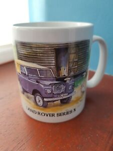 Land Rover Series 3 mug Land Rover mug Land Rovers cup farming agriculture gifts