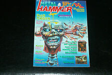 METAL HAMMER MAG GREEK COPY  No1 4/1988 IRON MAIDEN RE ISSUE