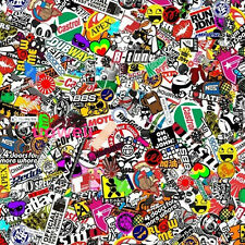 """60""""x20"""" JDM PANDA CARTOON GRAFFITI CAR STICKER BOMB WRAP SHEET DECAL VINYL DIY"""