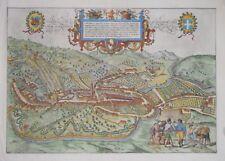 ITALY. - SERAVALLI (VITTORIO VENETO) BY BRAUN & HOGENBERG 1588