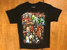 Marvel Universe Black Shirt Captain America Spider-Man X-Men Medium M