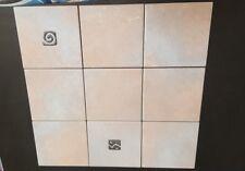 exmoor heather 15cmx15cm wall tile and dec job lot