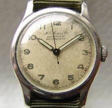 WWII ERA MEN'S H. MOSER & Cie collection MILITARY WRISTWATCH good condition