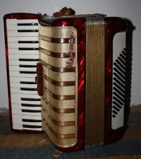 Akkordeon Hohner Concerto II - 72 Bässe - 2-chörig Bastlerinstrument