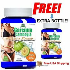 Pure Garcinia Cambogia Extract Maximum 95% HCA Slim Weight Loss *BOGO DEAL*