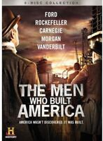The Men Who Built America [New DVD] Ac-3/Dolby Digital, Dolby, Subtitled, Wide