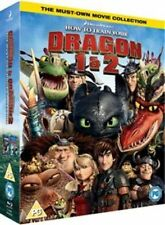 How to Train Your Dragon 1 and 2 Blu-ray Region B