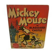 Mickey Mouse In Blaggard Castle 1934 The Big Little Book Walt Disney